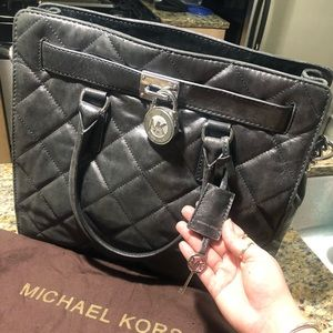 Michael Kors Large Quilted Hamilton
